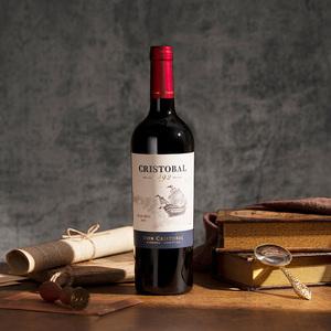 阿根廷 唐克里斯托瓦庄园马尔贝克红葡萄酒750ml