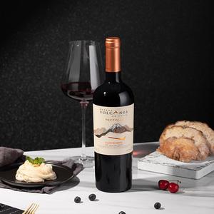 智利 火山特科托尼亚卡美娜红葡萄酒 750ml
