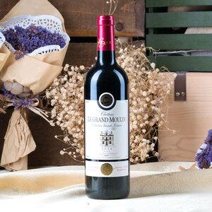 法国 大风车波尔多干红葡萄酒 750ml